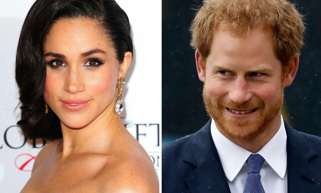 FORELSKET: Tidligere i november bekreftet prins Harry at han har blitt sammen med den amerikanske skuespilleren Meghan Markle. Foto: Scanpix