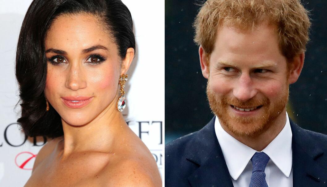 <strong>ROMANSEN BEKREFTET:</strong> I november ble det kjent at Meghan Markle og prins Harry offisielt er et par. Foto: NTB scanpix