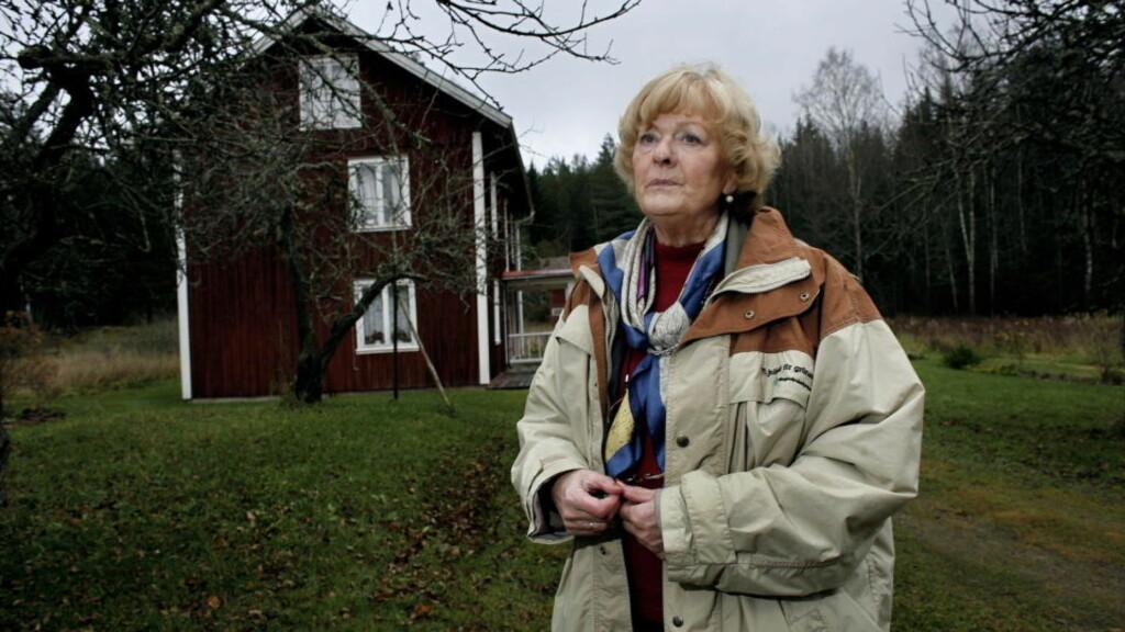 LETTE:T Tiiu Thorèn (65), som var samboer med drapsofferet, er lettet over dommen. Foto: Henning Lillegård