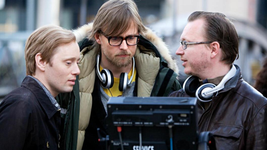<strong>TAR NYE OPPGAVER:</strong> Altfor mange norske regissører forsvinner etter å ha laget én film. Nå tyder mye på at regissørene Joachim Rønning og Espen Sandberg får nok å gjøre i årene som kommer. Her er de sammen med «Max Manus»-hovedrolleinnehaver Axel Hennie.