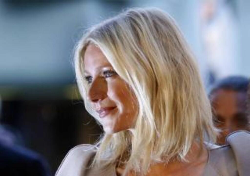 INVOLVERT: Gwyneth Paltron er ett av flere kjendisnavn som dukker opp i etterforskningen. Foto: REUTERS/Mario Anzuoni/Scanpix
