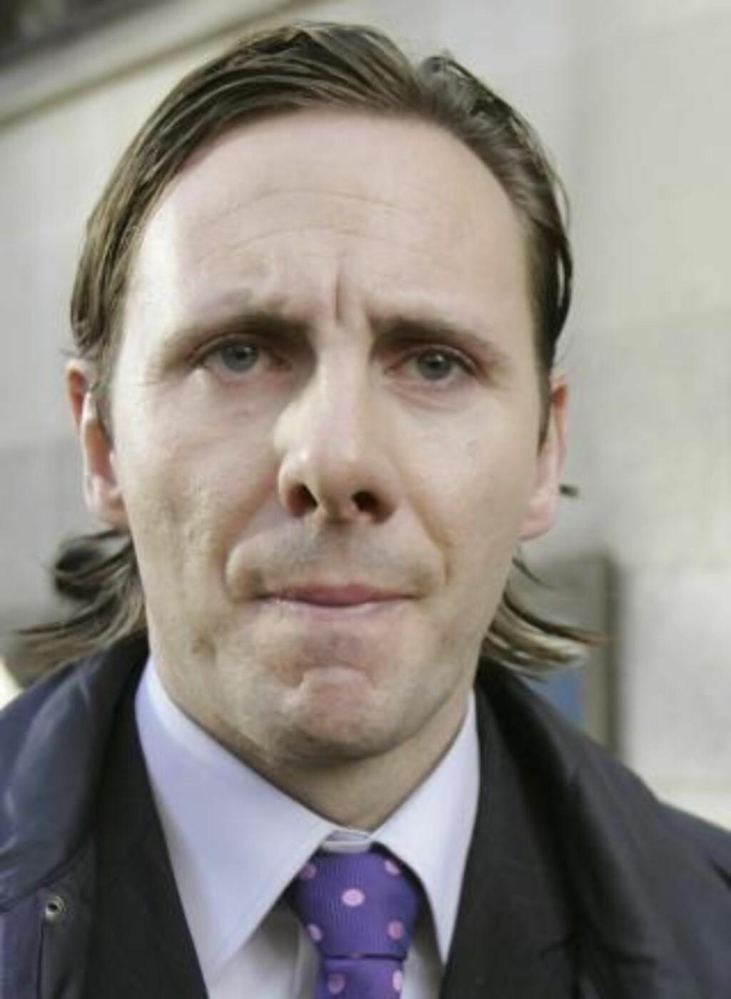 ANGRENDE SYNDER: Glenn Mulcaire sa seg skyldig i flere tilfeller av telefonavlytting. Foto: REUTERS/Toby Melville/Scanpix