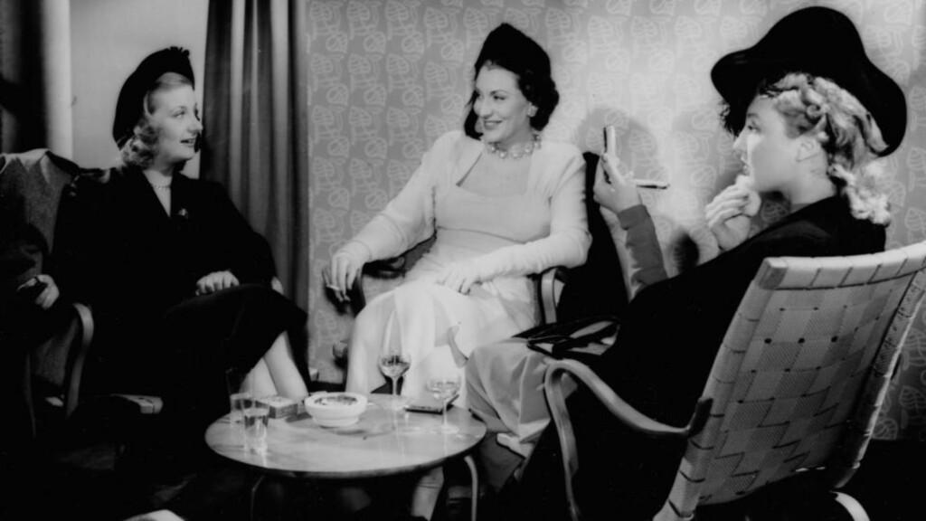 FILMATISERT: Arve Moens roman Døden er et kjærtegn ble filmatisert i 1949. Romanen er nå kåret til Norges 17. beste krimroman av Dagbladet.  Foto: NFI