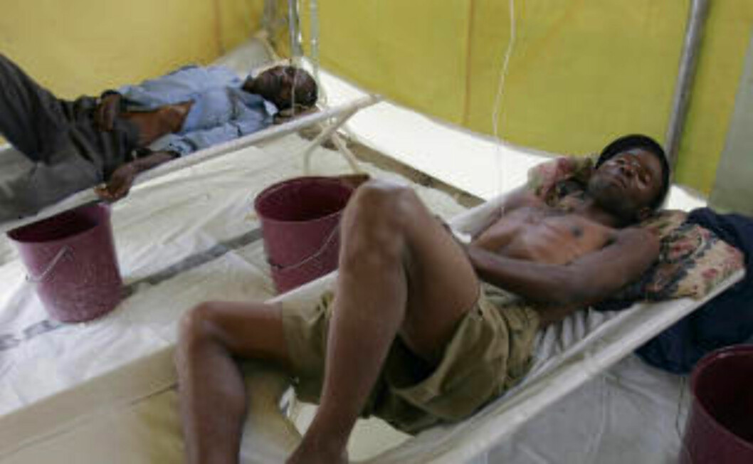 <strong>HARARE:</strong> Et kolerautbrudd har smittet titusener i Zimbabwe. Den vannbårne sykdommen har tatt livet av flere tusen.  Foto: REUTERS/Philimon Bulawayo/SCANPIX