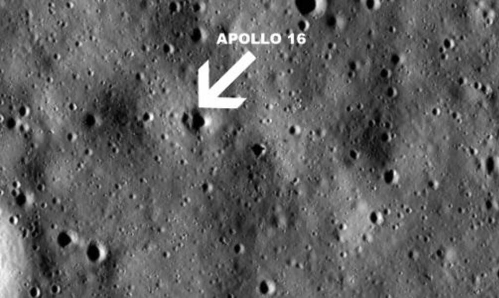 APOLLO 16: Her er Apollo 16. Foto: NASA/Goddard Space Flight Center/Arizona State University