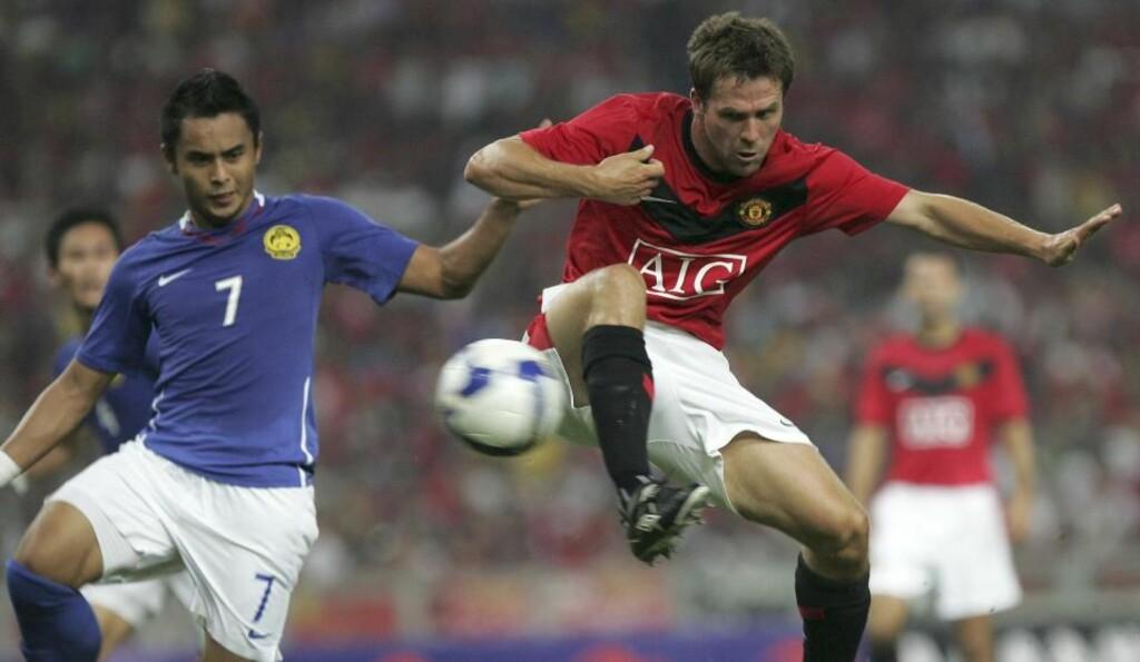 GOD START: Michael Owen har vist prov på at det fortsatt bor en målscorer i 29-åringen under Manchester Uniteds Asia-turné.Foto: SCANPIX/AP Photo/Ching Kien Huo