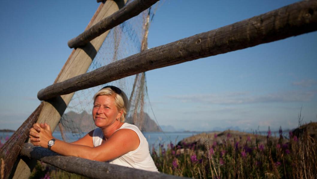 <strong>VIL BORE:</strong> Frp-leder Siv Jensen lover å starte arbeidet med å åpne for petroleumsutvinning i Lofoten og Vesterålen i løpet av de 100 første dagene i regjering, hvis velgerne sender partiet inn i regjering. Foto: Jo Straube