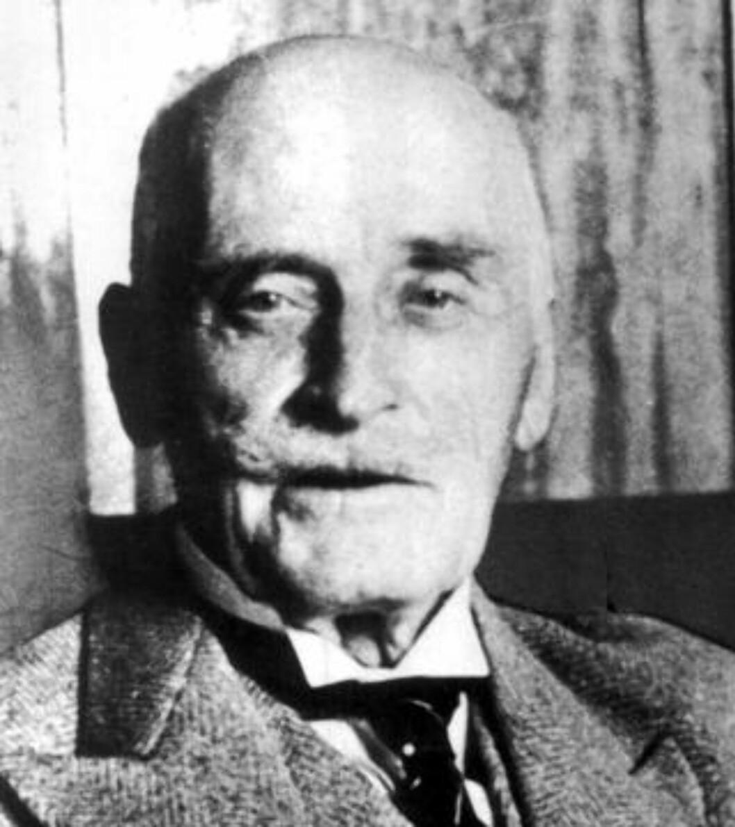<strong>JUBILANT:</strong> I dag er det 150 år siden Knut Hamsun ble født. Foto: SCANPIX