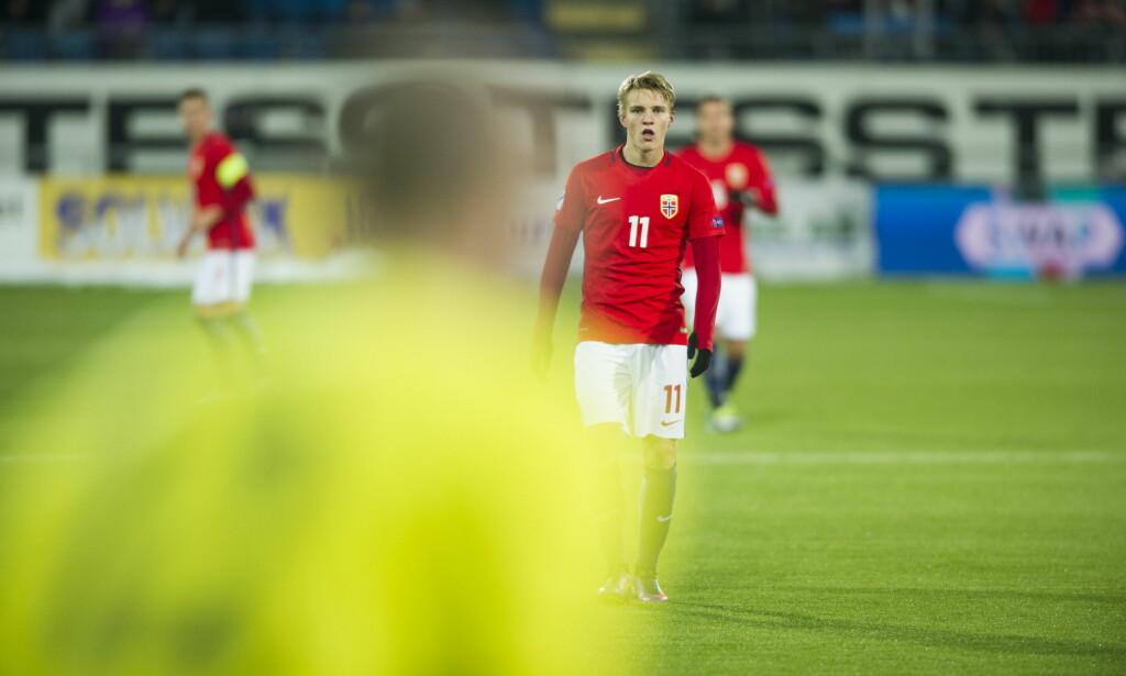 VISTE SEG FRAM: Martin Ødegaard. Foto: Andreas Lekang / Dagbladet