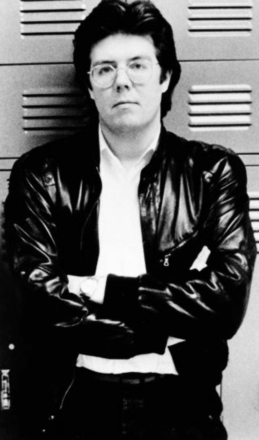 JOHN HUGHES fra hans glade dager som regissør på 80-tallet. (AP Photo)