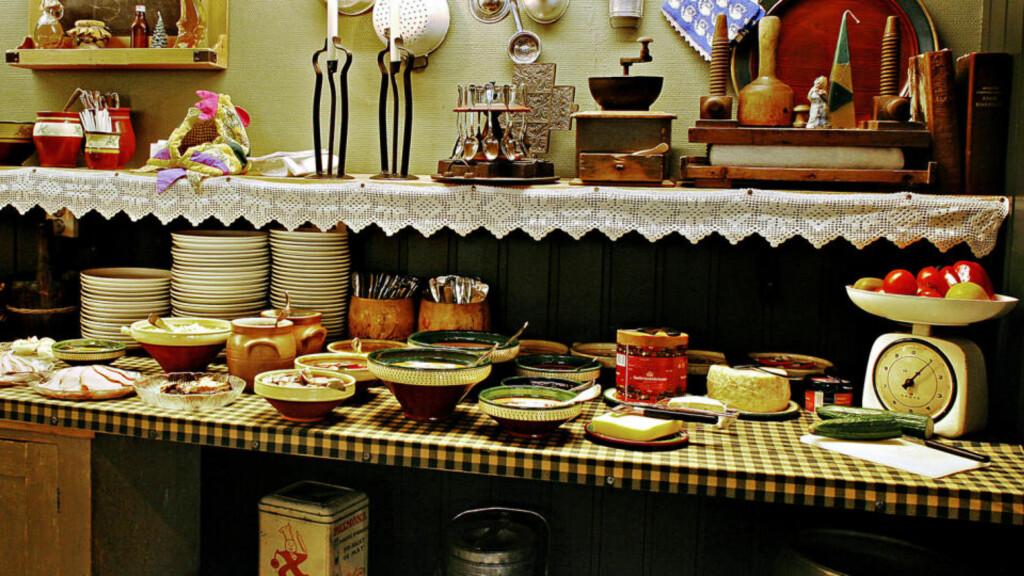 ERZSCHEIDERFROKOST: Bor du på Erzscheidergården på Røros vanker det frokost som huskes.   Foto: Ole C. H. Thomassen