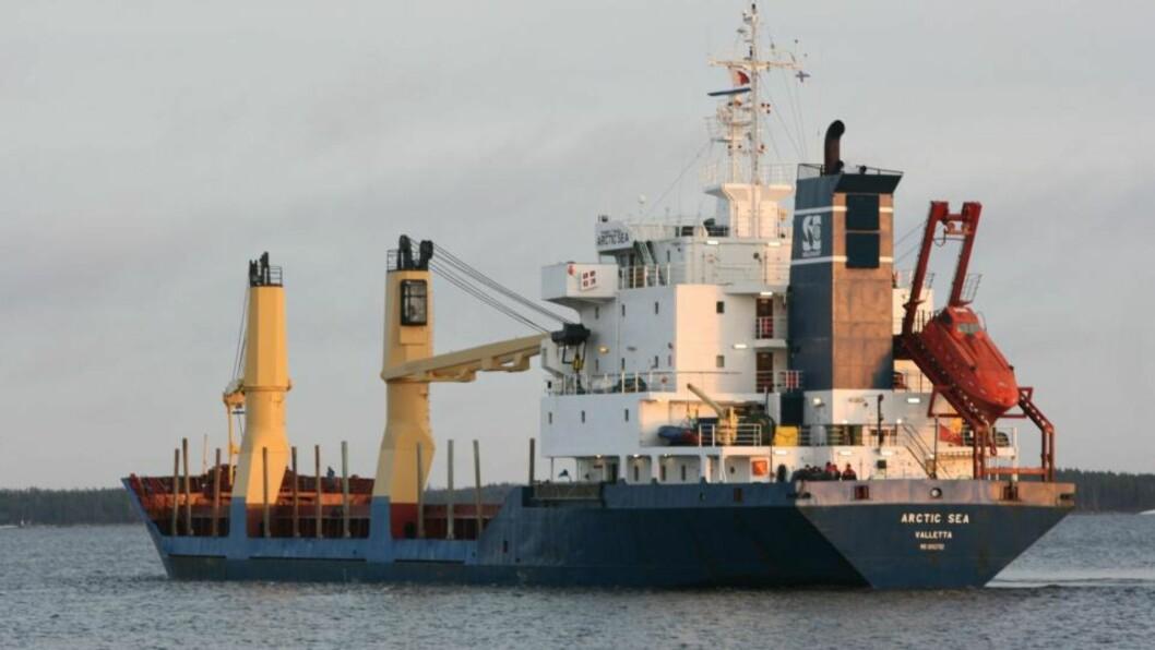 <strong>- OBSERVERT:</strong> Kystvakten på Kapp Verde bekrefter at savnede Arctic Sea er observert 400 nautiske mil fra Kapp Verde. Skipet har vært savnet siden det forsvant fra radar 30. juli. Foto: Scanpix