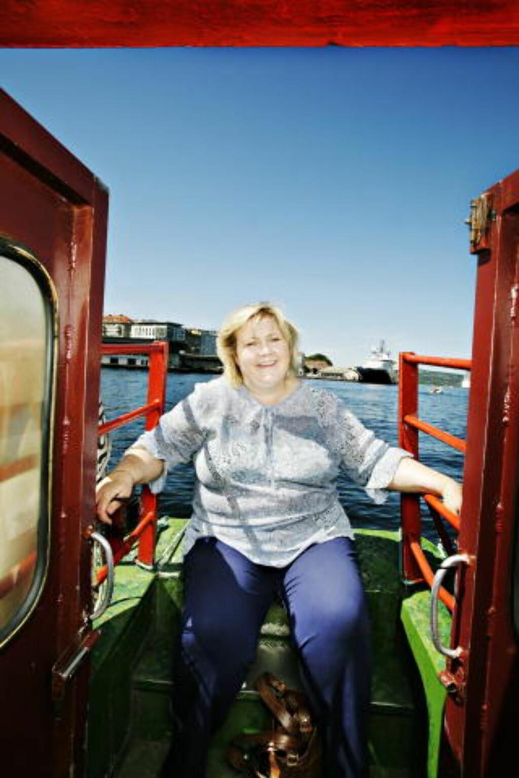 - NÅR UT: Solbergs oppslutning viser at hun når fram med budskapet, mener SVs Thorkildsen. Foto: KRISTIAN RIDDER-NIELSEN/Dagbladet
