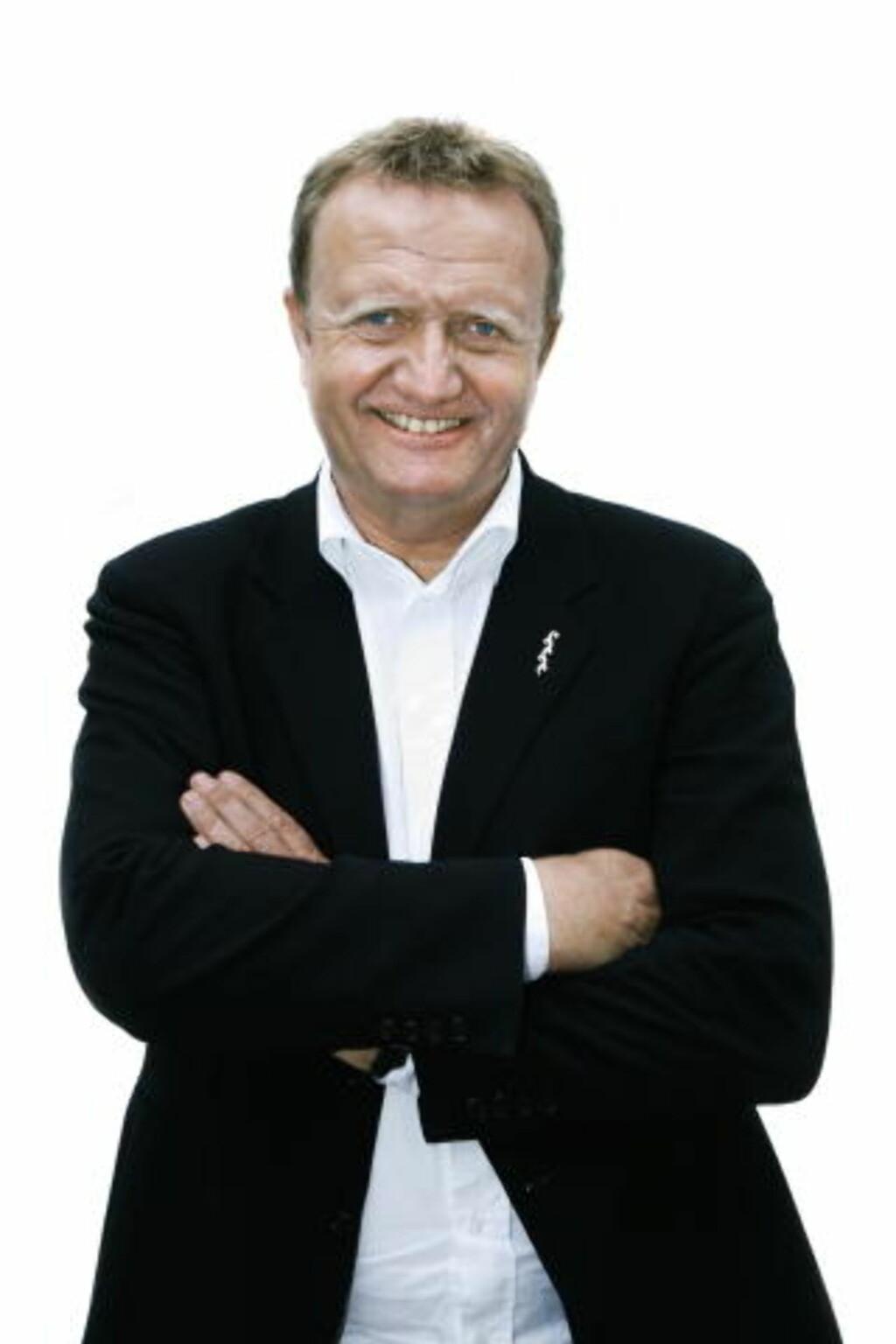 — VEKTA ER ET PROBLEM: Pr-rådgiver Kjell Terje Ringdal mener Høyre taper stemmer på at Erna Solberg er overvektig. Foto: STEINAR BUHOLM/Dagbladet