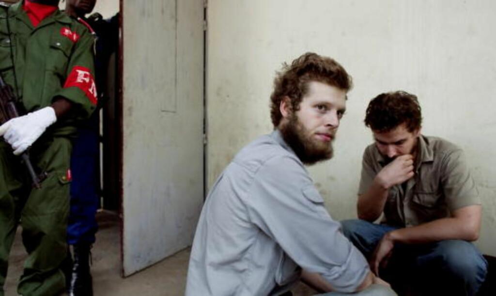 DRAPSTILTALT: Tjostolv Moland og Joshua French er draps- og spionasjetiltalt. Foto: Espen Røst
