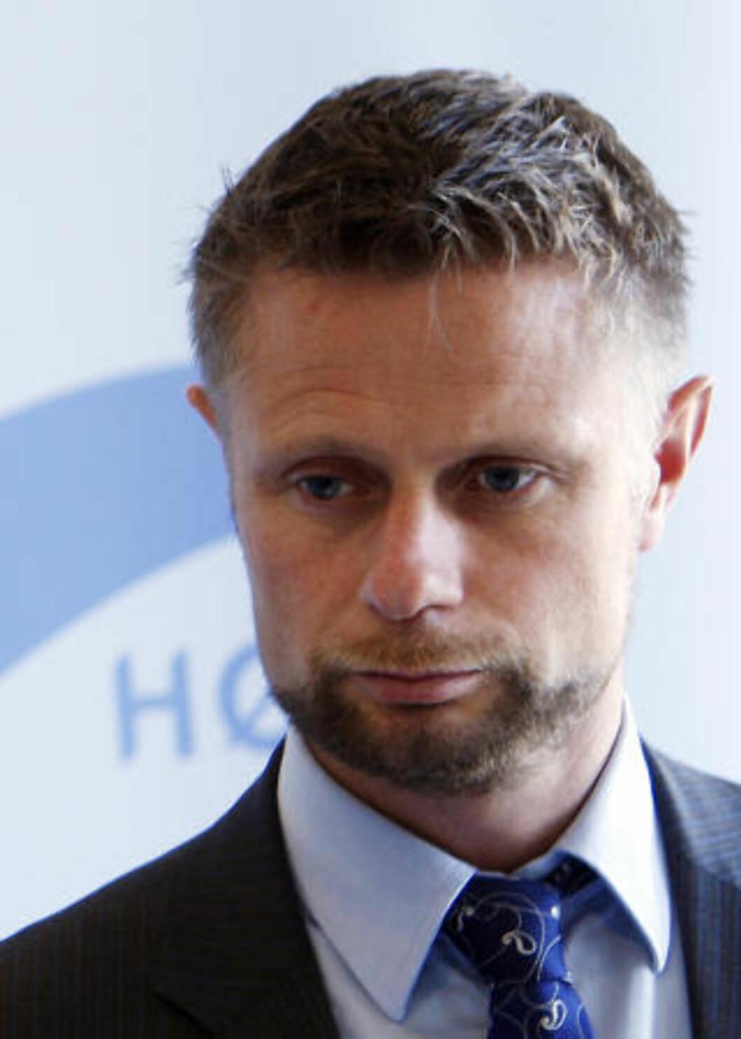 FORSVARER EGEN POLITIKK: Stortingsrepresentant Bent Høie.  Foto: Morten Holm / SCANPIX