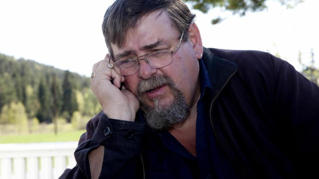 FRYKTER FOR SØNNENS LIV: Knut Moland jr. er bekymret før domsavsigelsen i Kongo i morgen. Foto: Torbjørn Berg