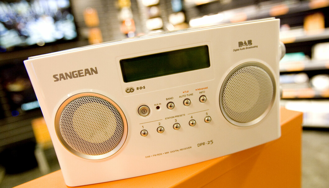 <strong>DAB:</strong> Det er planlagt at FM-nettet for radio skal slukkes i 2017, og at vi skal gå over til DAB. Det mener Senterpartiet er en dårlig ide, og er bekymret for beredskapen. FOTO: Håkon Mosvold Larsen / SCANPIX