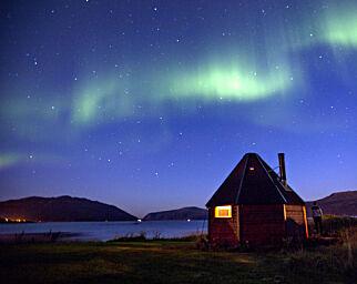 image: Utlendingene ville etter nord-norsk nordlys