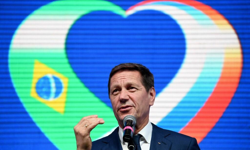 MENER AT ALT ER I ORDEN: President for Russlands olympiske komité, Alexander Zjukov. Foto: AFP / Kirill KUDRYAVTSEV / NTB Scanpix