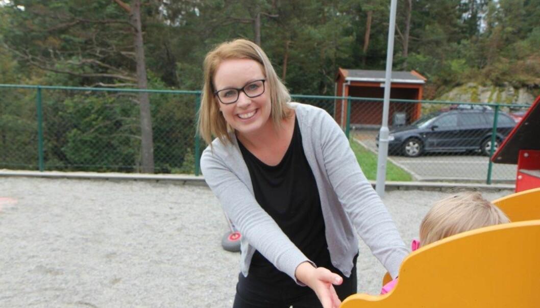 ENIG I AT FORSKJELLER KAN BLI MER SYNLIGE: Pedagog og forfatter Erle Sellevåg mener likevel at arrangementer i barnehagen i de fleste tilfeller er positivt. Foto: Privat