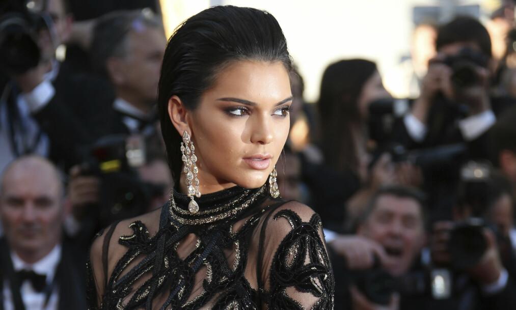 <strong>SLITER MED ANGST:</strong> Kendall Jenner er visst ikke den eneste i Kardashian-Jenner klanen med mentalelidelser. Foto: NTB Scanpix