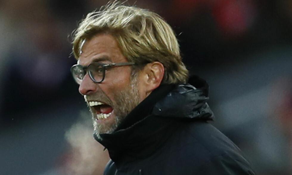 FORSTÅR LITE: Liverpool forsøkte å få flyttet en kamp på grunn av det tette kampprogrammet, men FA vender tommelen ned. Foto: Action Images / Reuters / Jason Cairnduff / NTB Scanpix