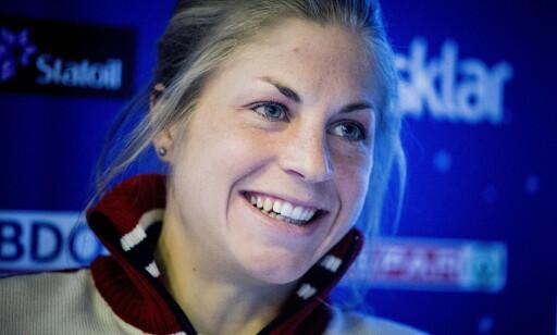 SAMHOLD: Astrid Uhrenholdt Jacobsen forteller hvordan skijentene gjør hverandre sterkere. Foto: Bjørn Langsem / Dagbladet