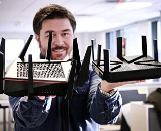 Super-rutere på testbenken