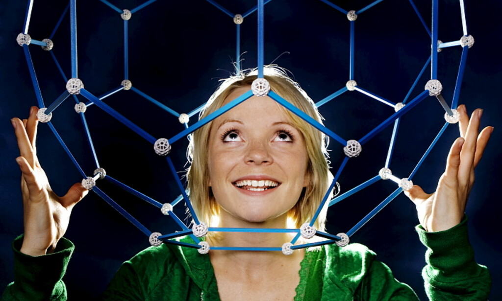 SCHRÖDINGERS KATT: Programleder Solveig Hareide tok over som programleder, etter Eldrid Borgan og Per Olav Alvestadi i fjor. Bildet er tatt da hun var programleder for Newton. FOTO: NRK