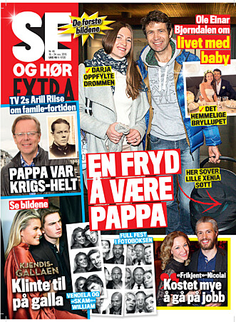 I SALG NÅ: Les flere spennende kjendissaker i ukens utgave av Se og Hør Extra. Foto: Faksimile Se og Hør