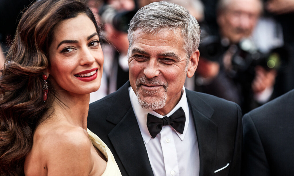 BLIR FORELDRE: Superparet Amal og George Clooney venter tvillinger, og går en spennende tid i møte. Foto: NTB Scanpix