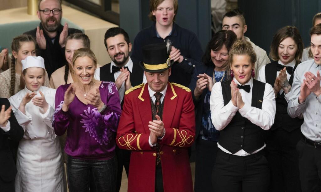 TAKK FOR ALT: «Hotel Cæsar» fortjener all den applausen den kan få. Foto: Geir Egil Skog