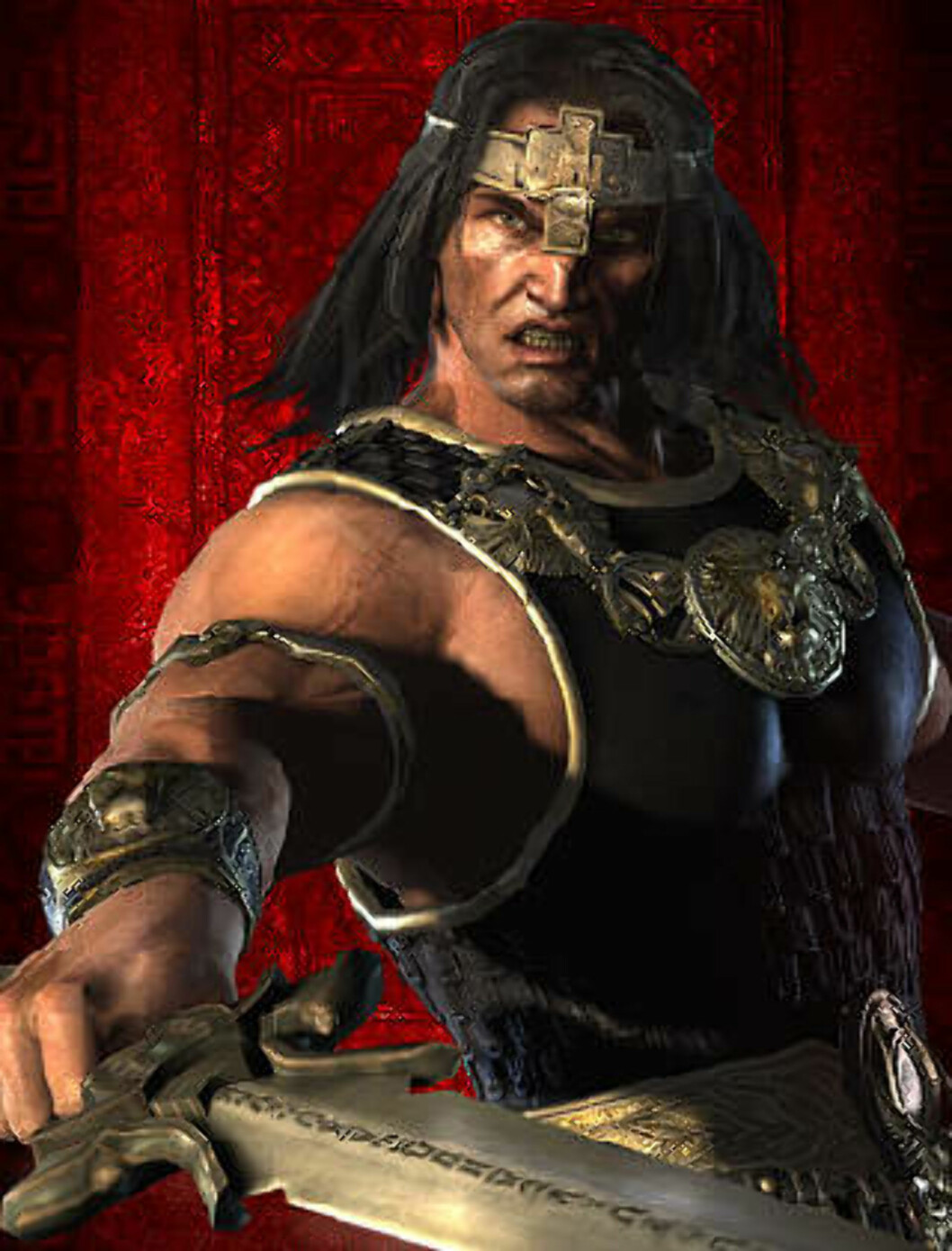 <strong>STORSPILL:</strong> «Age of Conan» er Funcoms nyeste spill. Foto: FUNCOM