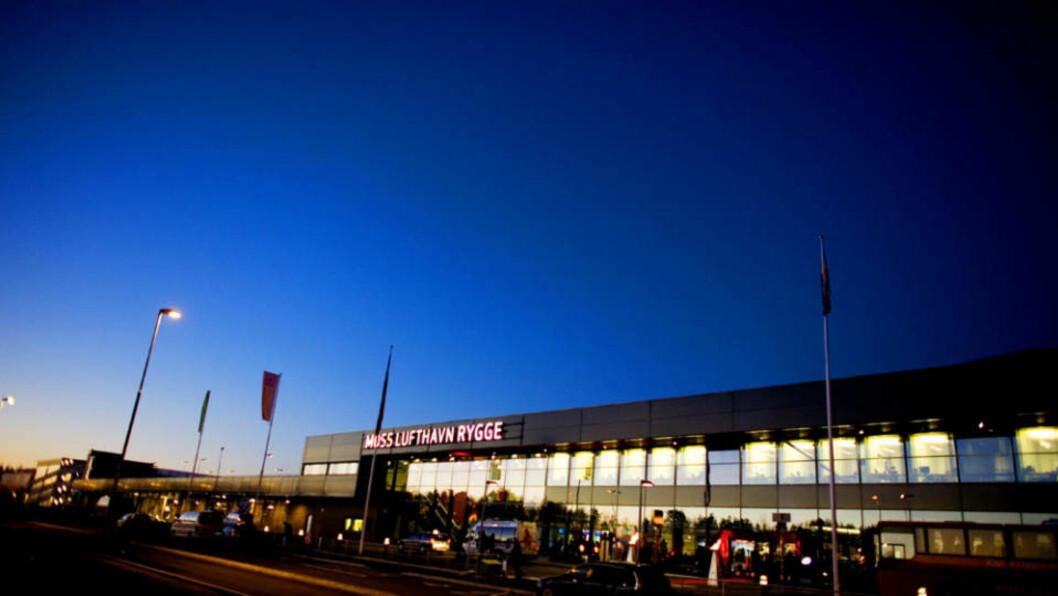 <strong>VIL HA FLERE PASSASJERER:</strong> Moss lufthavn Rygge mener de trenger flere passasjerer for å overleve, men da må passasjertaket heves. Det blir vanskelig etter kveldens stortingsvedtak. Foto: SARA JOHANNESSEN/SCANPIX