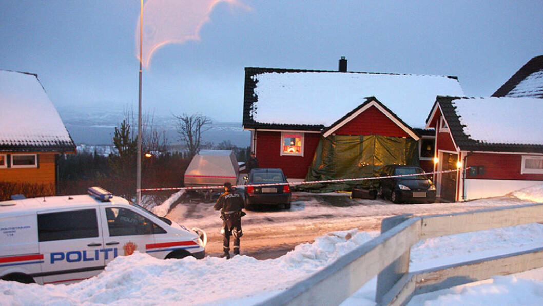 <strong>DREPT:</strong> En kvinne ble drept i Bodø tirsdag formiddag. Foto: