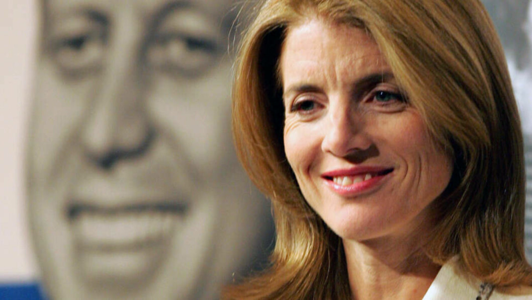 <strong>SIER DET HØYT:</strong> Caroline vil føre Kennedy-arven videre. Foto: AP/Scanpix