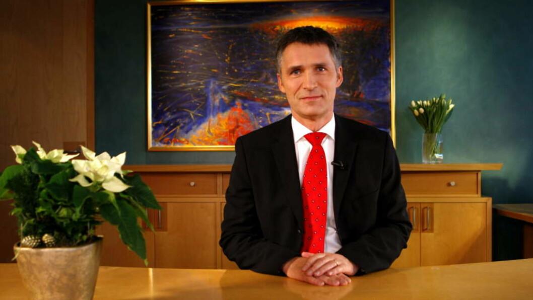 <strong>VIL HA DUGNAD:</strong> Statsminister Jens Stoltenberg. Foto: Erlend Aas / SCANPIX