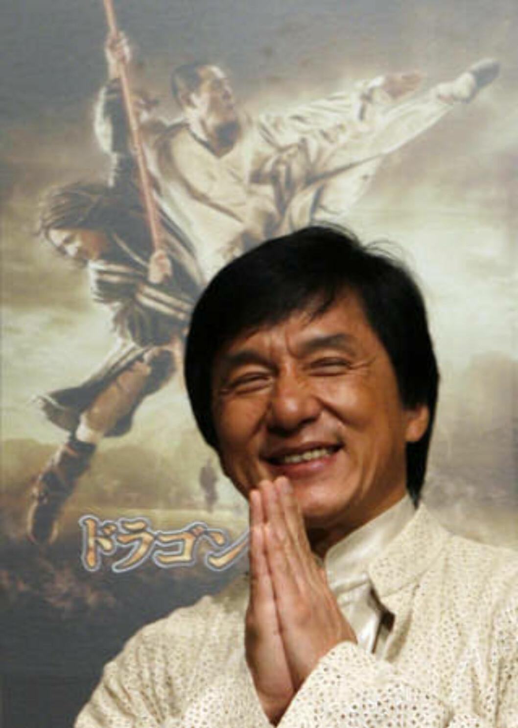 AKTUELL: Jackie Chan.