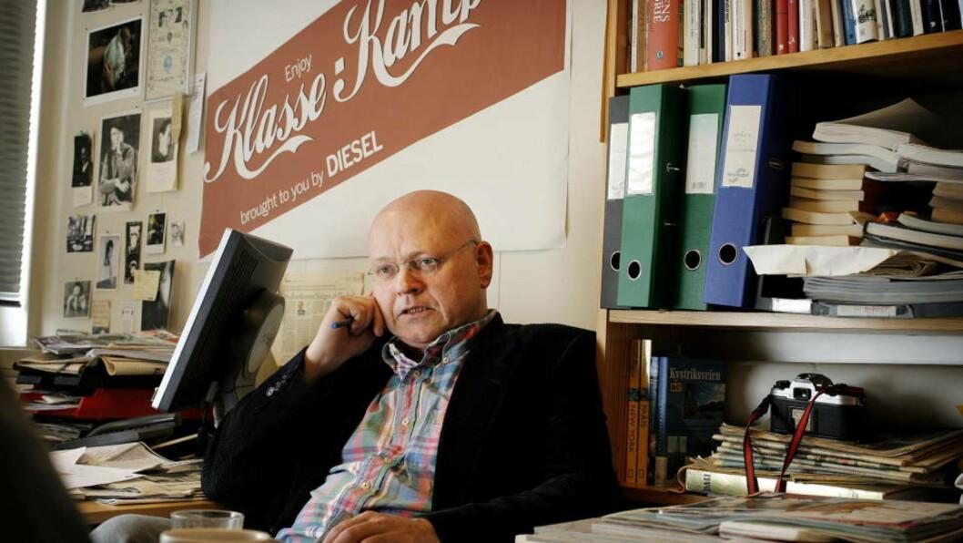 <strong>- MAKSIMALT UHELDIG:</strong> Klassekampen-redaktør Bjørgulv Braanen. Foto: HANS A. VEDLOG