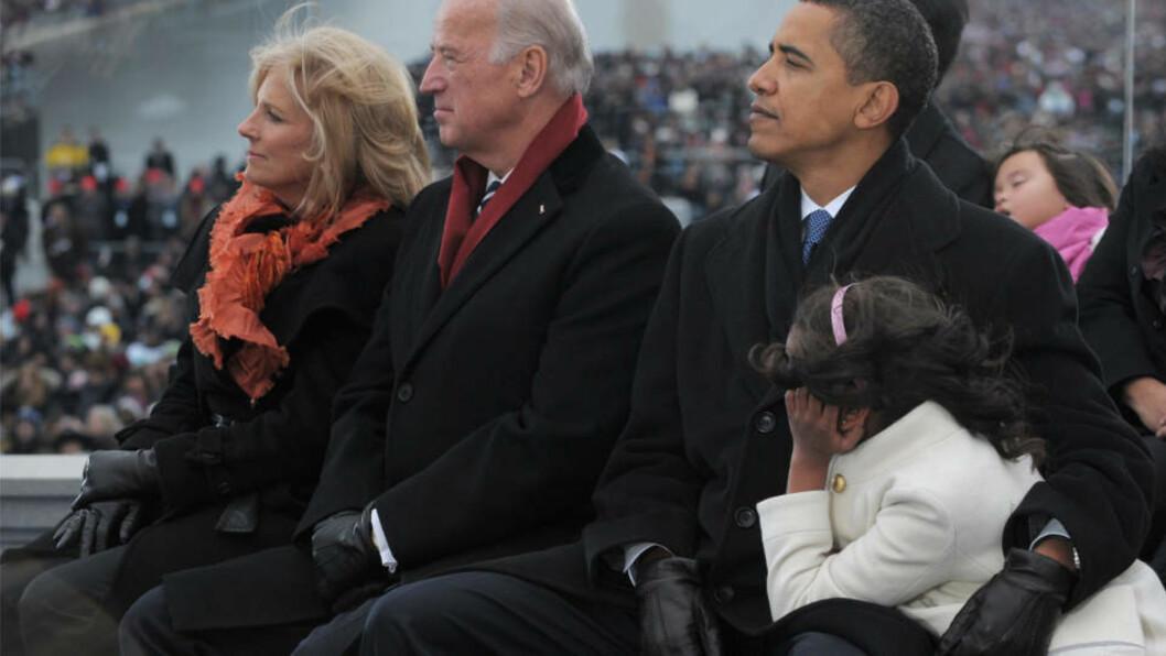 <strong>TV-FORSNAKKELSE:</strong> Jill Biden, kona til påtroppende visepresident Joe Biden røpet litt for mye på Oprah Winfrey-show i dag. Foto: AFP PHOTO/Mandel NGAN