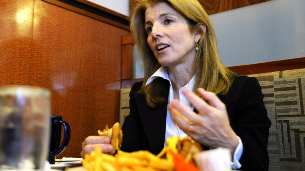 <strong>GIR OPP:</strong> Caroline Kennedy. Foto: AP Photo/Stephen Chernin/Scanpix