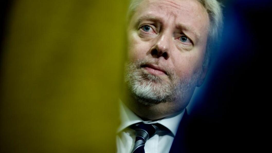 <strong>UTFORDRING:</strong> PST-sjef Jørn Holme mener risikoen for islamistisk vold i Norge er en utfordring. Arkivfoto: Kyrre Lien / SCANPIX .