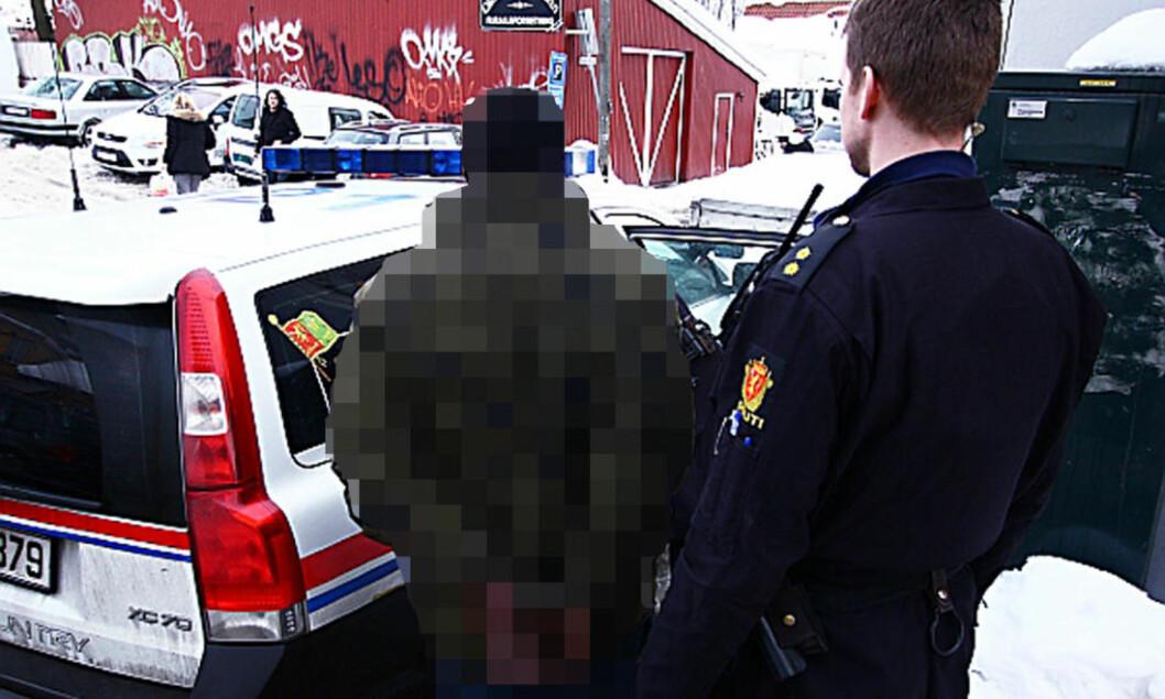 <strong>ANHOLDT:</strong> Politiet sjekket identiteten til en av mennene som oppholdt seg på adressen der voldtekten skal ha skjedd, men ingen er foreløpig siktet i saken. Foto: Svein Gustav Wilhelmsen