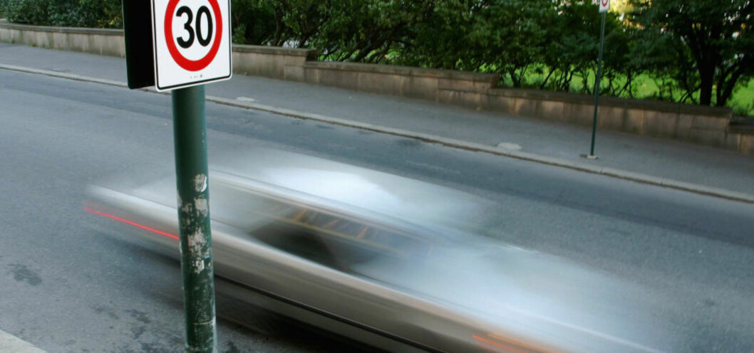 Fredag ble det innført 30 km/t fartsgrense i Oslo sentrum. UTE ETTER FARTSYNDERE:  Samferdselsminister Liv Signe Navarsete ønsker å skjerpe inn dagens regelverk. Illustrasjonsfoto: SCANPIX