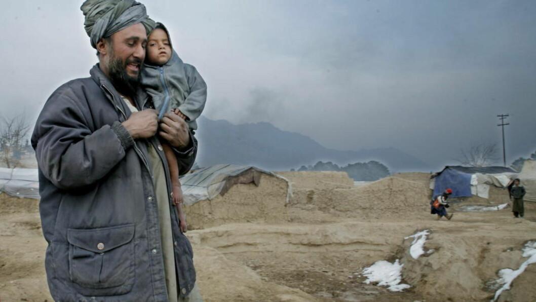 <strong>OFFER:</strong> I alt 40 prosent fleire sivile vart drepen i Afghanistan i 2008 enn året før. Taliban er antatt å vere ansvarlig for litt over halvparten. Det gjer utanlandske styrkar ansvar for store sivile tap. Foto: Jacques Hvistendahl/Dagbladet
