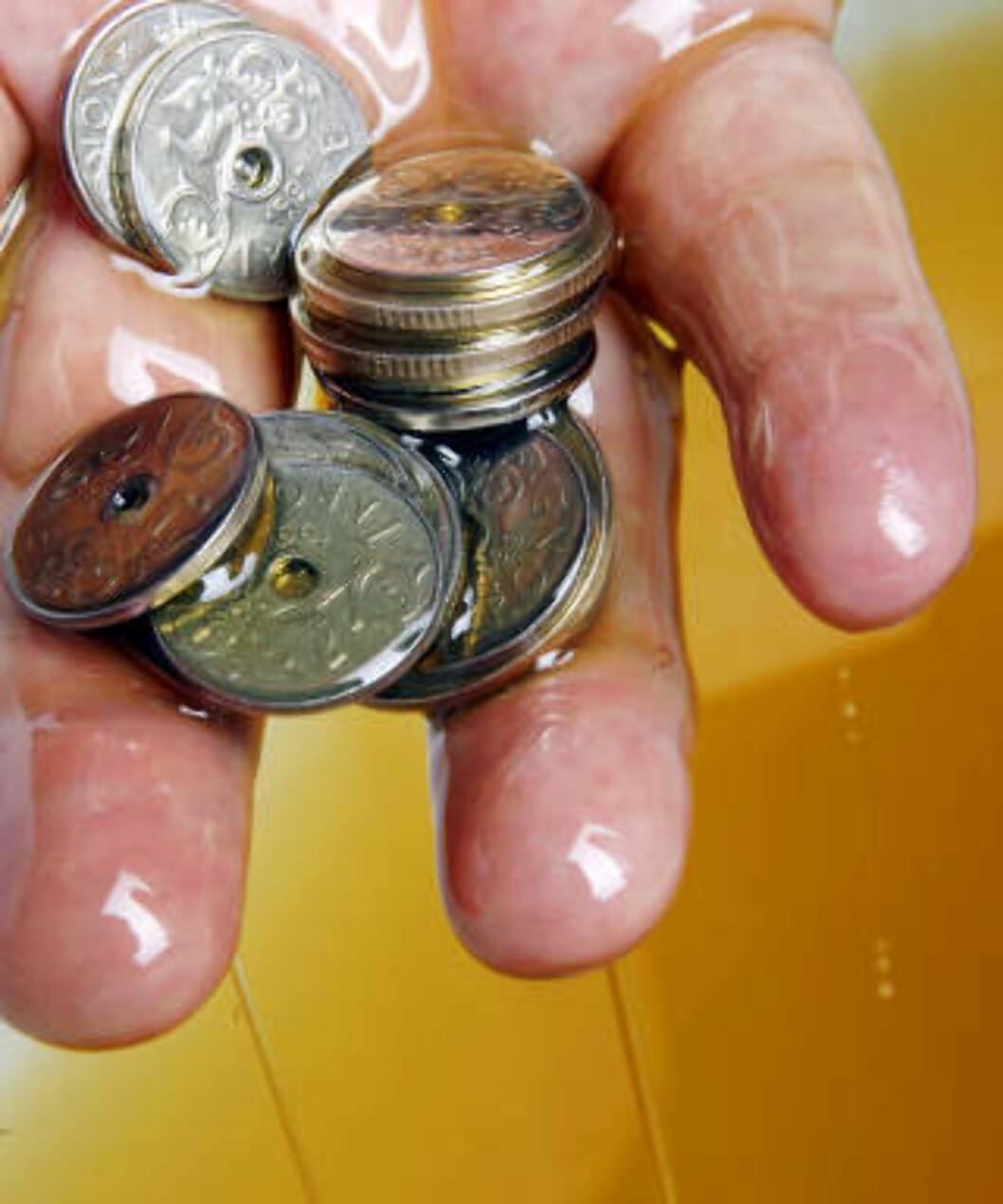 <strong>TAPER OG TAPER:</strong> Siden starten av 2008 har Oljefondet tapt et helt statsbudsjett. Foto: Sara Johannessen / SCANPIX .