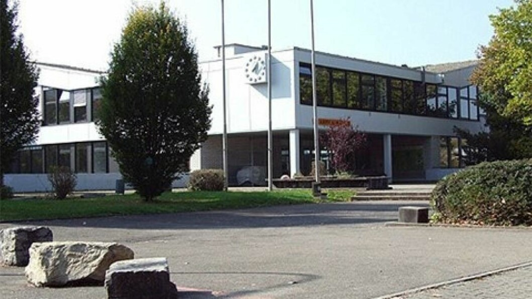 <strong>RAMMET AV SKOLEMASSAKRE:</strong> Skolen Albertville-Realschule i Winnenden. Foto: www.ars-winnenden.de