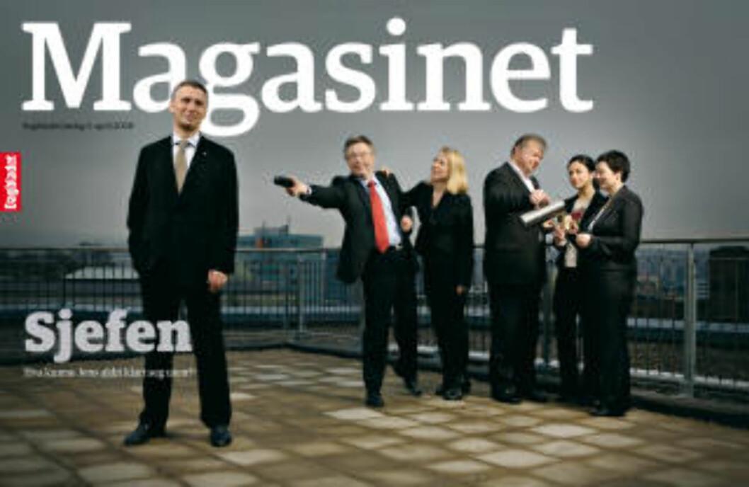 <strong>HEDRET:</strong> Dagbladet Magasinet fikk Merket for god design for det relanserte Magasinet, som kom i fjor.