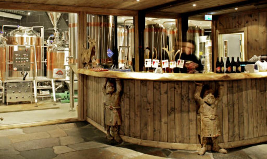 BEST: Ægir ble kåret til årets beste bryggeripub 2008. Nordøl med sine 100 000 norske ølentusiasters stod for avstemmingen.